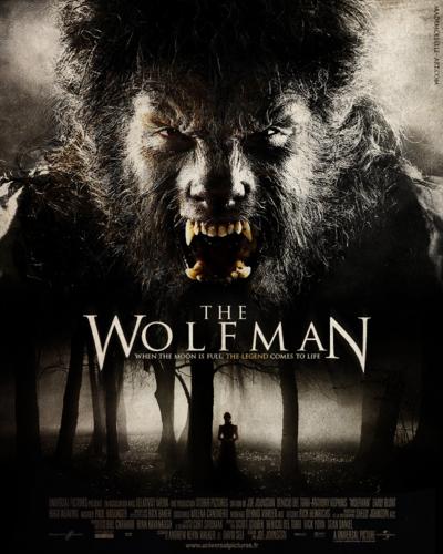 Dharma Estudio - THE WOLF MAN 2010 Freelance Arturo Balseiro for Rick Baker Makeup Aplications
