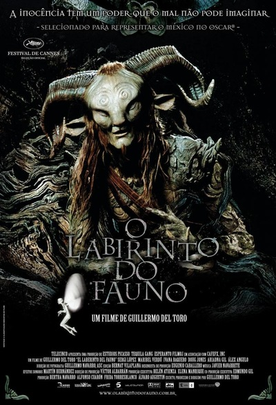 Dharma Estudio - EL LABERINTO DEL FAUNO 2006 Freelance Arturo Bailseiro on DDT SFX From sculpting to finishing and application on set of The Pale Man, sculpting on the Pan, and making of all the eyes of the characters Premio OSCAR BEST MEAKEUP AND HAIRSTYLING 2007