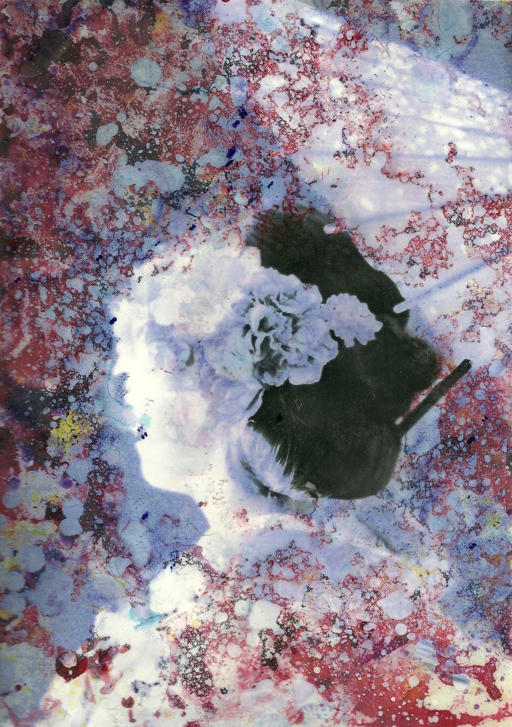 Manami Takamatsu - Licht und Schatten, 2017, Mixed Media, 297x210mm