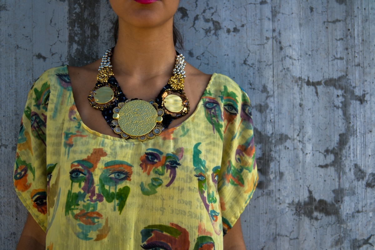 Daniela Guarin - Hand made necklace