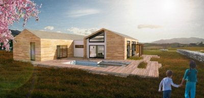 lukas cimprich - residential house FLEXIBLE /gable roof/