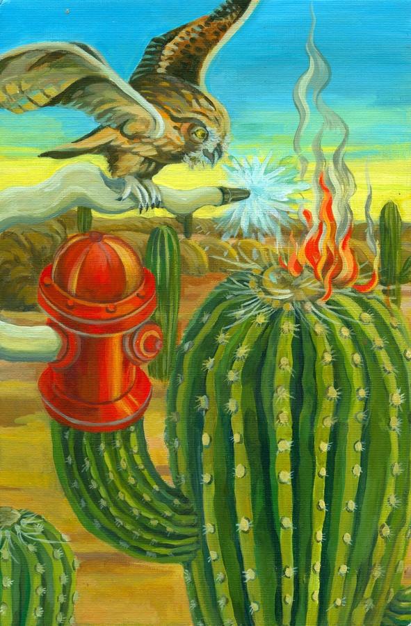 Sonya Cao - cactus city