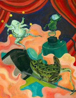 Sonya Cao - frog Circus