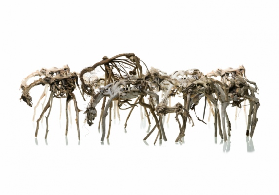 AL - Skulptur Ishästarna av André Prah