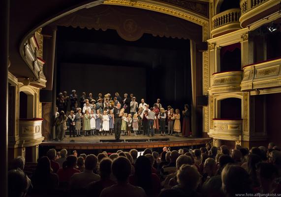 AL - KUNG MATTIAS Höör sommaropera 2013 på Ystads Teater