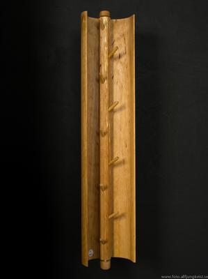 AL - Nyckelskåp i al med infälld epoxy. Längd 45 cm bredd 9 cm Pris 1200 kr