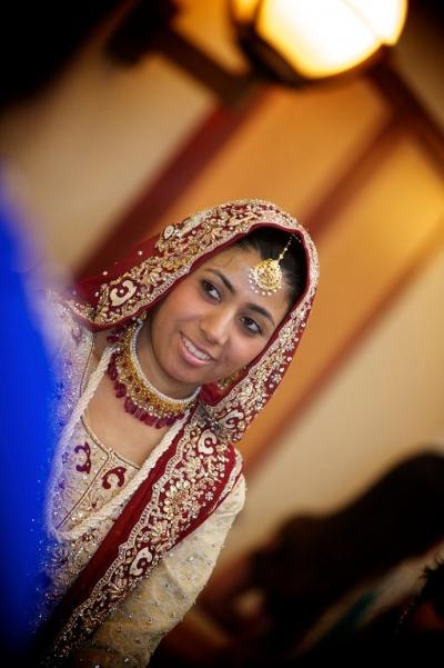 The Helwa Look - Dupatta, Hair & Teeka setting only.