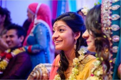 The Helwa Look - sister of bride hair