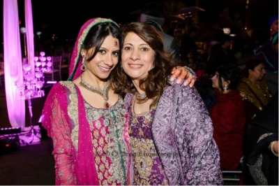The Helwa Look - bride and mother of the bride