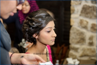 The Helwa Look - sister of the bride hair and makeup
