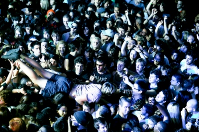 Brian C. Reilly Photography - Terminal 5 Crowd Surfer