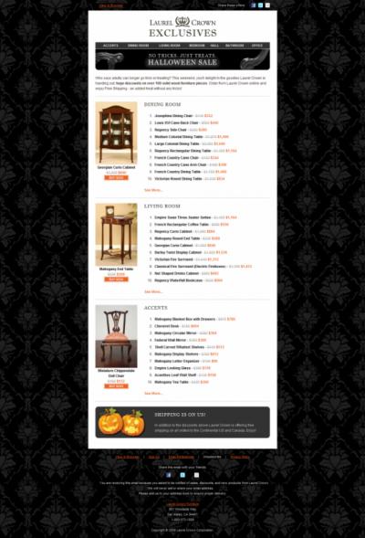 Laurence Lok - Laurel Crown Halloween Newsletter