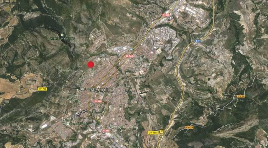 arqestudiBOMON - PLANO DE SITUACIÓN / SITUATION PLAN