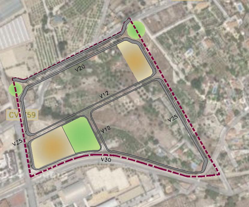arqestudiBOMON - PLANO DE VIARIO / STREET PLAN