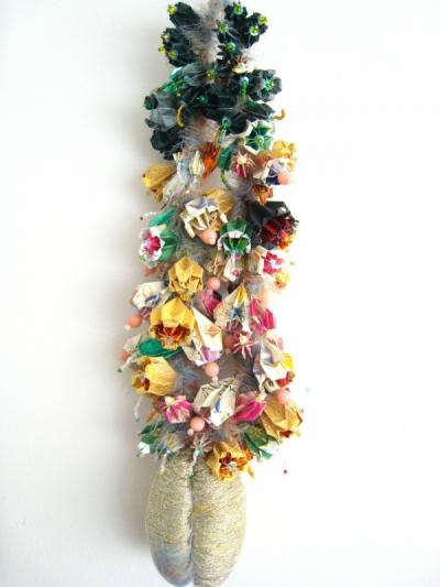 papier plié par Nobuko MURAKAMI - Fruit damour