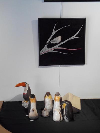 Aline Zirimis - Exposition Galerie des Corsaires Bayonne