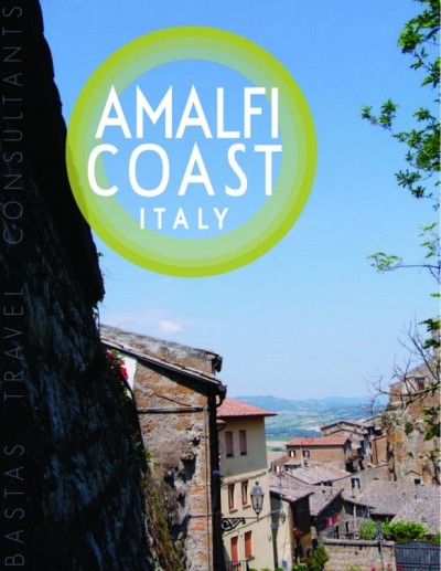 Natallie Rainer Graphic Design Portfolio - Amalfi Coast Guide