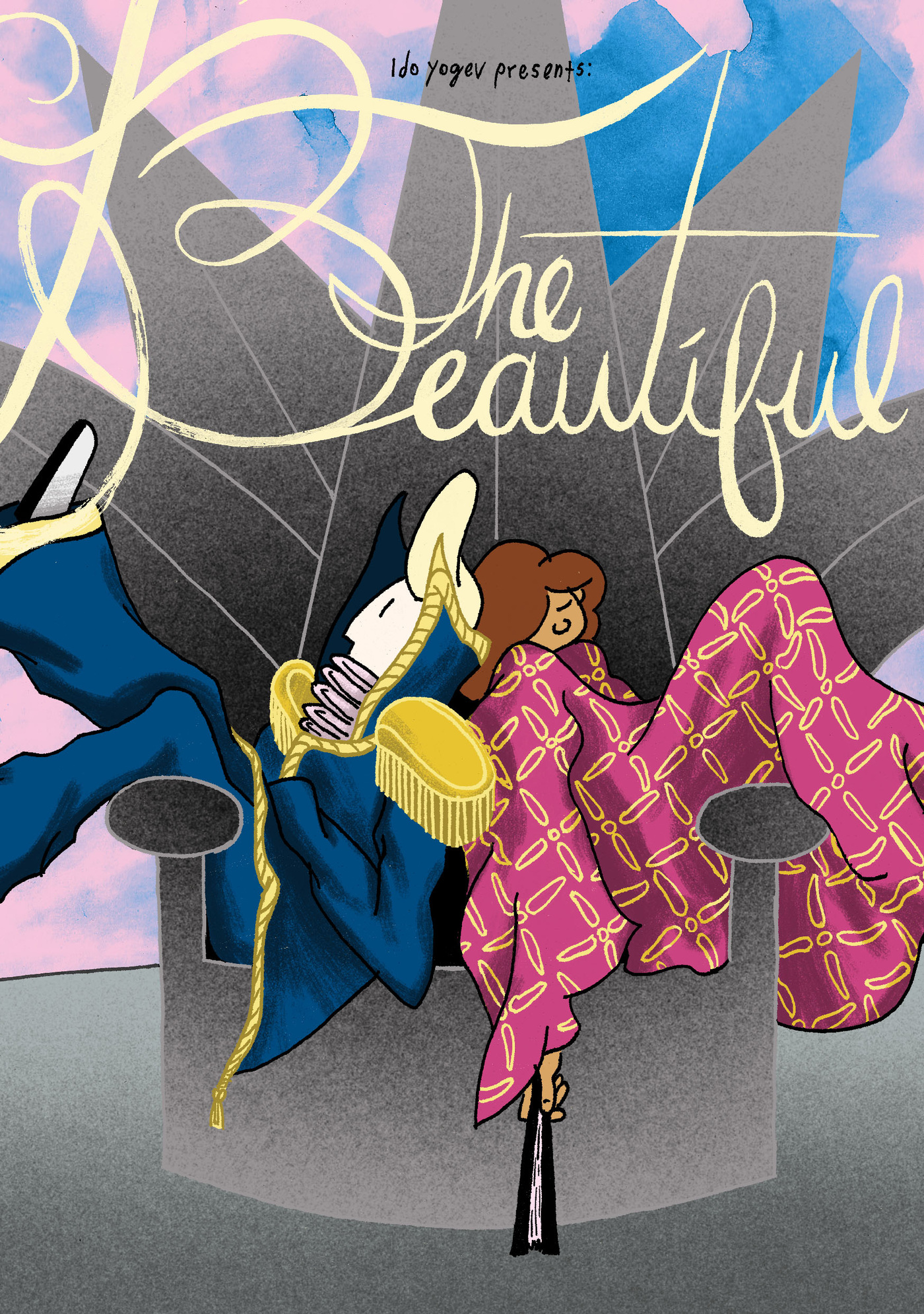 Well how are ya - The Beautiful- A Story of Sad Teens and Elven Queens. Read from the beginning here: https://thebeautifulcomic.tumblr.com/post/180749067204