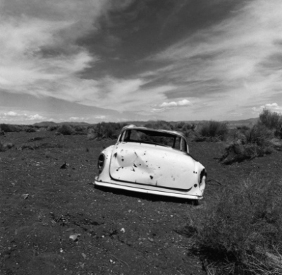 Spindler Photography - Rear of Car, Pyramid Lake