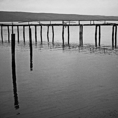 Spindler Photography - Water and Pier Lines, Marin County, CA