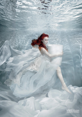 Dubai Photographer underwater, fashion, commercial, corporate, wedding - Marmorin Advertising Campaign model Krysia Ksiezyk