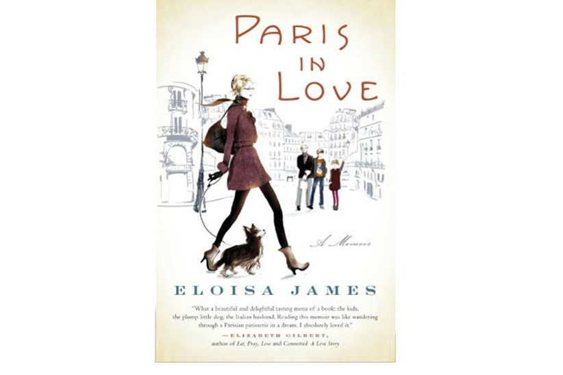 Sophie Griotto Illustration - Couverture du roman dEloisa James Paris in Love/Editions Ramdom House/2012