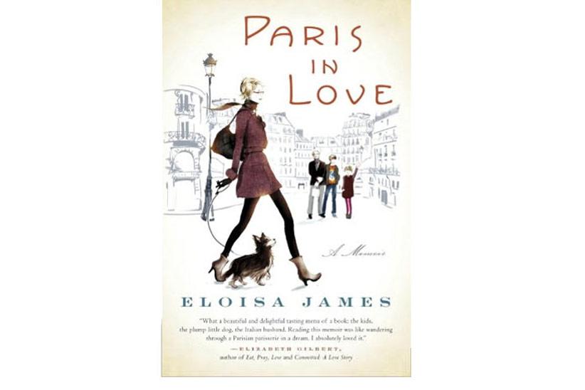 Sophie Griotto Illustration - Couverture du roman dEloisa James Paris in Love/Editions Ramdom House/2012