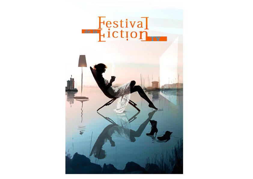 Sophie Griotto Illustration - Affiches pour le Festival de la Fiction TV de La Rochelle 2012