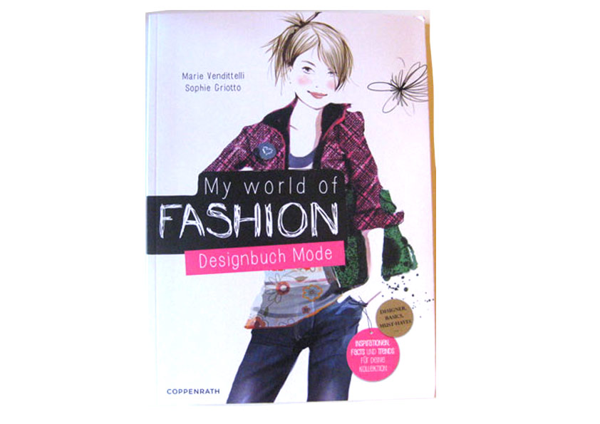 Sophie Griotto Illustration - The Fashion Book: The deutch version