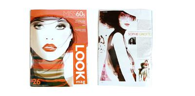 Sophie Griotto Illustration - Parution dans look Mag 2005