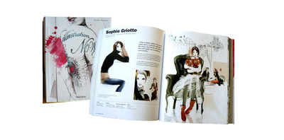 Sophie Griotto Illustration - Parution dans Illustration Now 3 Taschen 2009