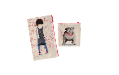 Sophie Griotto Illustration - Petites pochettes en velours