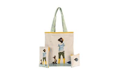 Sophie Griotto Illustration - Collection enfant, le sac est en velours, très doux.