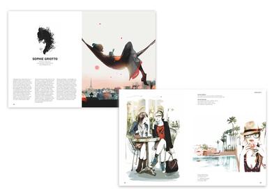 Sophie Griotto Illustration - Parution dans 100 illustrators Taschen 2014
