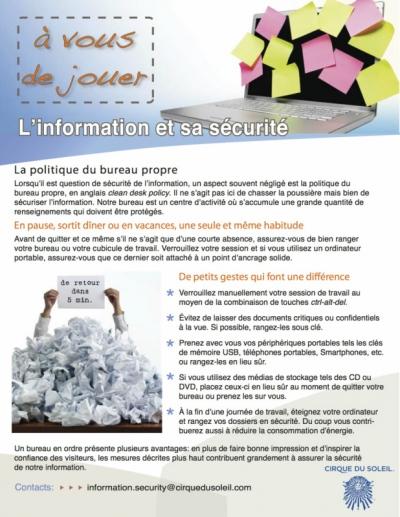 Portfolio excommunica - Affichette bureau en ordre
