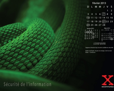 Portfolio excommunica - Fond décran thématique février 2013