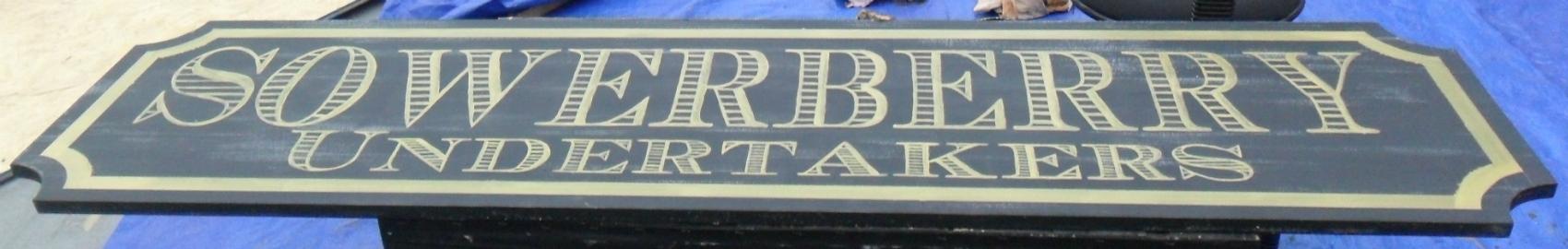 Tewksbury Arts - Hand Painted Sign