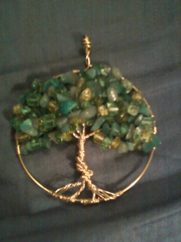 Tewksbury Arts - Tree of Life Pendant