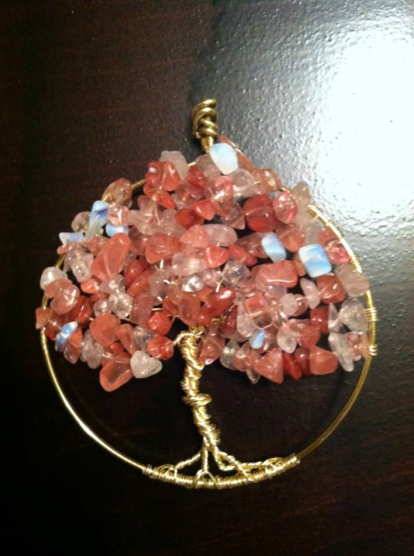 Tewksbury Arts - Tree of Life Pendant Cherry Tree