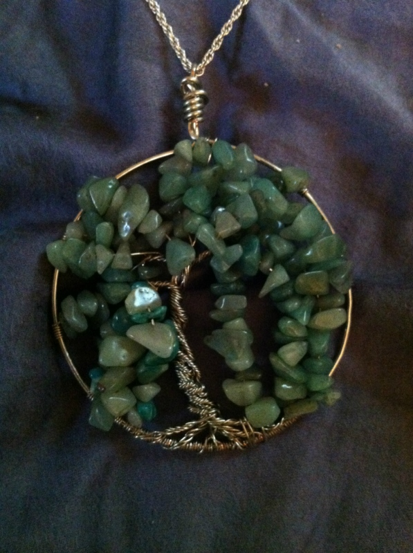 Tewksbury Arts - Tree of Life Pendant Willow Tree