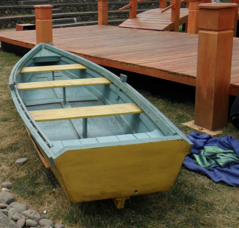 Tewksbury Arts - Restored Boat