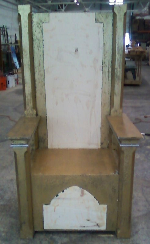 Tewksbury Arts - Original Throne Base