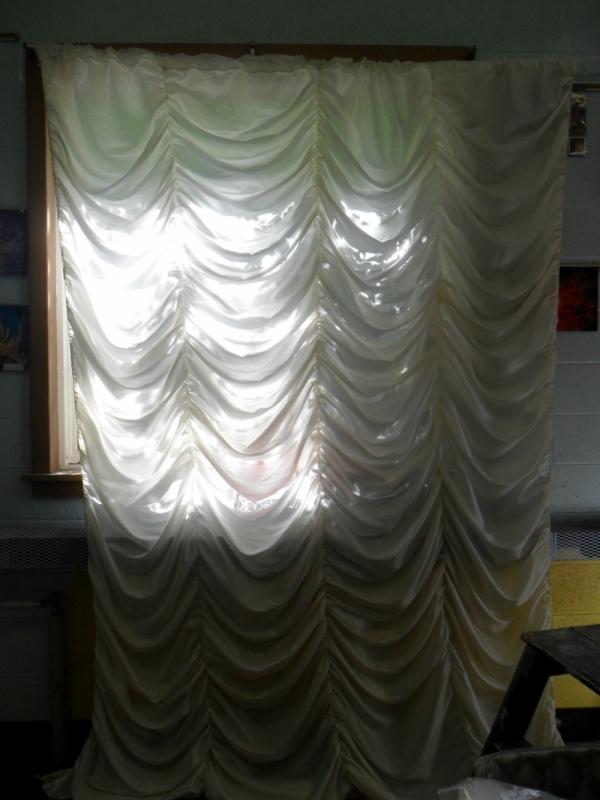 Tewksbury Arts - Large Curtain Mock Up