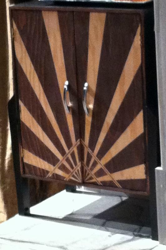 Tewksbury Arts - Door Stain Treatment