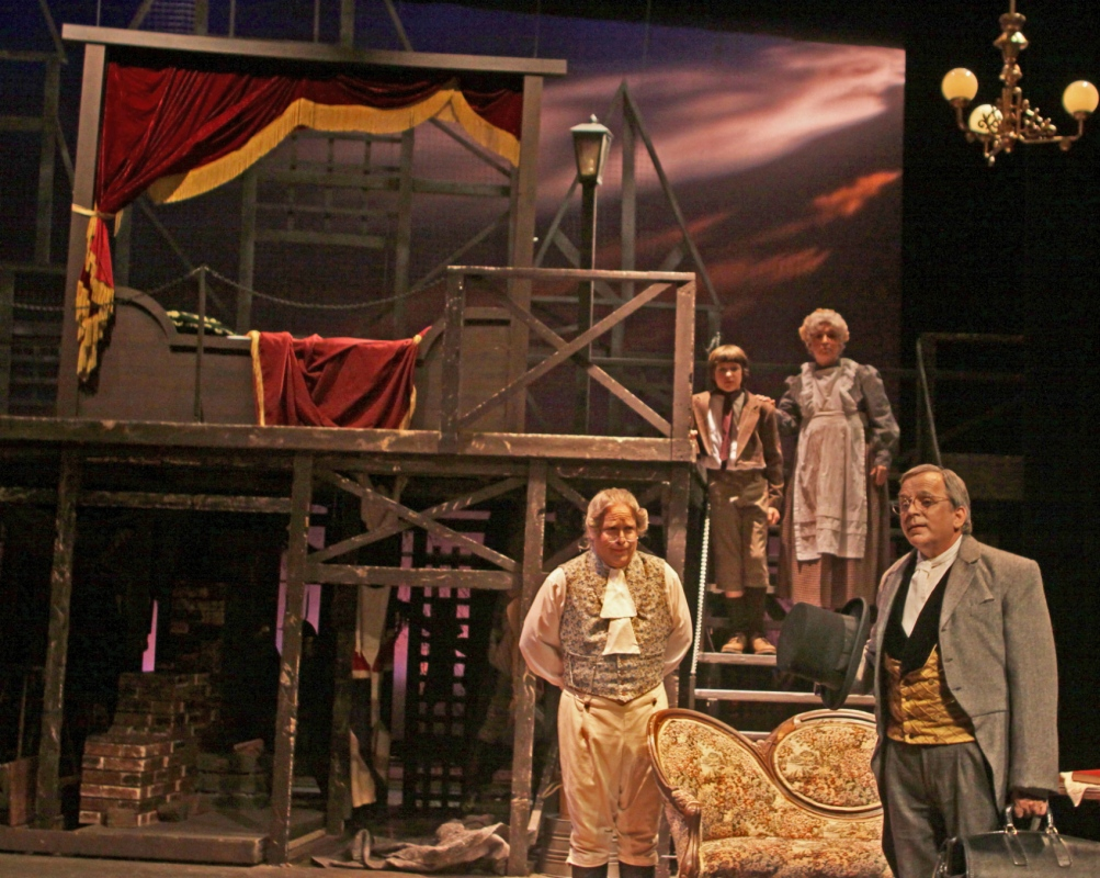Tewksbury Arts - Rigged fly in Bed