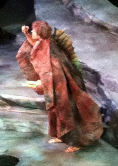 Tewksbury Arts - Calibans Fin