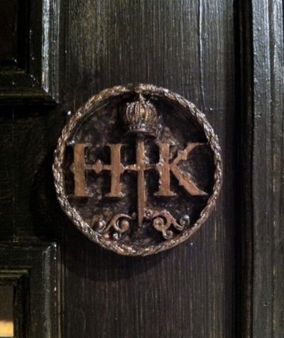 Tewksbury Arts - Henry & Katherine Wooden Seal