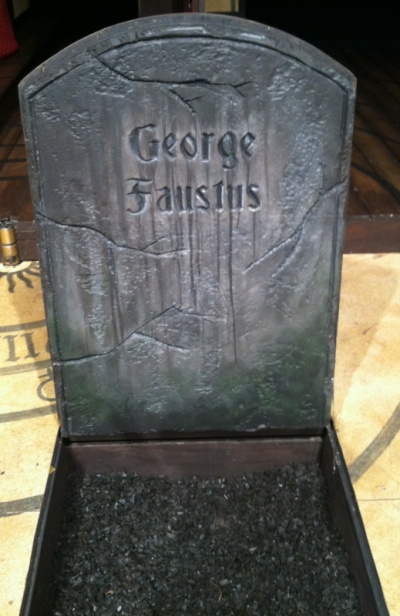 Tewksbury Arts - Faustus Head Stone