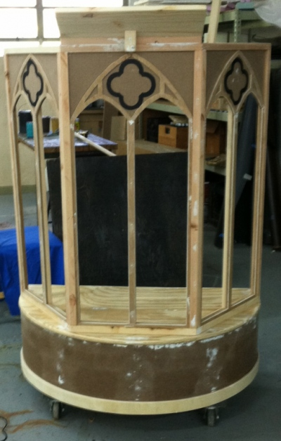 Tewksbury Arts - Church Podium