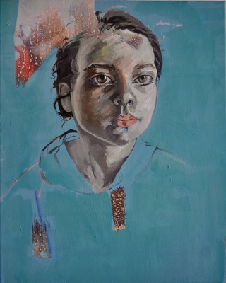 Beata Daly - From the acrylics/mixed media series Project XI/1
